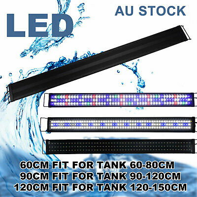 AU99.71 • Buy Aquarium Light Lighting 30-180cm Full Spectrum Aqua Plant Fish Tank LED Lamp AU
