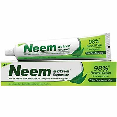 Neem Active Toothpaste,Refreshing,200 Gm (pack Of 4) | Free Shipping | Fast Ship • 20.99£