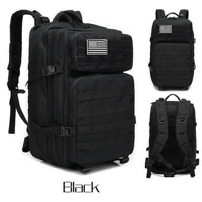 $39.89 • Buy 45L Military Tactical Backpack Large Army 3 Day Assault Pack Molle Bag Camping