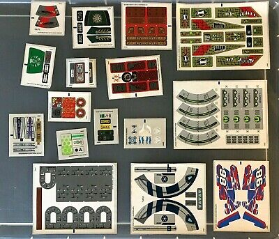 NEW LEGO STICKERS 17 Sheets Ninjago Star Wars Monster Fighters Chima Technic ++ • 14.99£