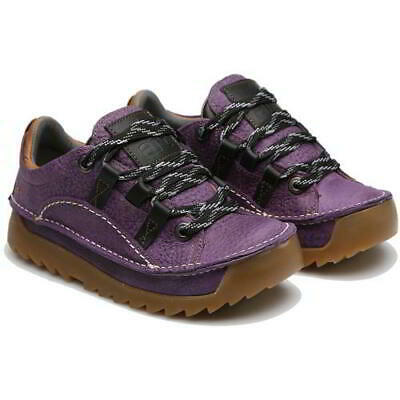 Art Skyline 590 Womens Ladies Purple Chunky Lace Up Trainers Shoes Size 4-8 • 109.99£