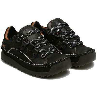 Art Skyline 590 Mens Womens Black Chunky Lace Up Trainers Shoes Size UK 4-12 • 109.99£