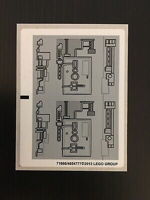 NEW LEGO STICKERS  9495 Y Wing Sticker Sheet Star Wars Y-wing • 4.49£