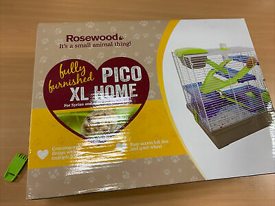 Pico Extra Large Hamster Cage XL Syrian Mouse • 3.30£