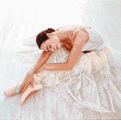 Tenderness  - Ballerina Counted Cross Stitch Kit LETI924 By LetiStitch • 31.49£