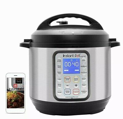 $ CDN100.52 • Buy Instant Pot Smart WiFi 8-in-1 Electric Pressure Cooker 6 Quart 13 Programs Alexa