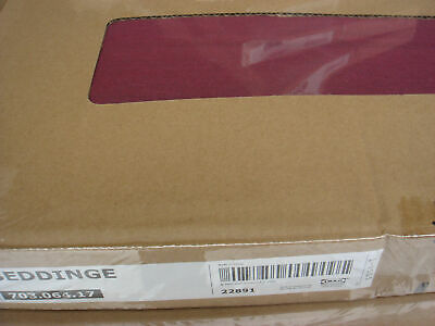 New Original IKEA Cover For Beddinge 3 Seat Sofa Bed In KNISA CERISE    • 119.90£