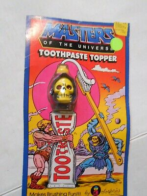 $20 • Buy Masters Of The Universe Toothpaste Topper SKELETOR Mattel 1984 NOS