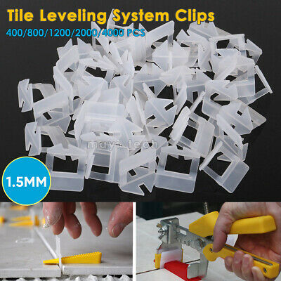 1000~4000PC Tile Leveling Spacer System Tool Clips Wedges Flooring Lippage Plier • 18.99£