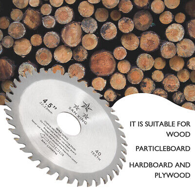 £4.99 • Buy 115mm 40T Circular Wood Saw Blades Discs Plunge Cutting Angle Grinder Tools UK