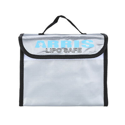 Anti-Explosion Lipo Battery Safe Bag 215x155x115mm For RC/FPV Drone Storage Case • 11.54£