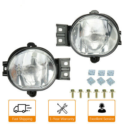 $37.99 • Buy Fog Light Set Of 2 For 2002-2008 Dodge Ram 1500 2003-2009 Ram 2500 3500 Front