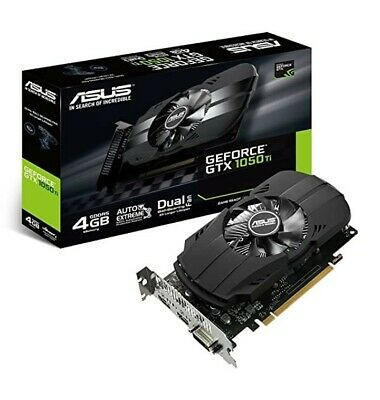 $ CDN290.53 • Buy ASUS NVIDIA GeForce GTX1050Ti 4GB GDDR5 PH PCI-E Video Card