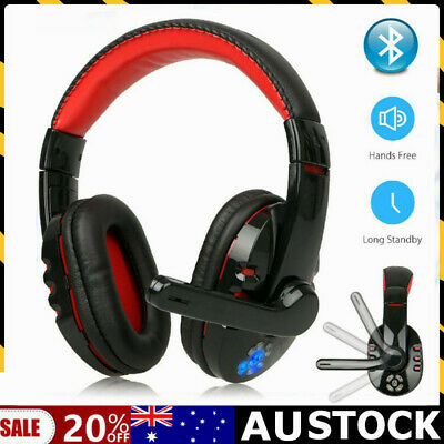 AU31.69 • Buy 3.5mm Gaming Headset Mic LED Headphones Stereo Bass Surround For PC Xbox One AUS