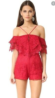 AU45 • Buy Alice McCall Little Red Corvette Playsuit Size 4