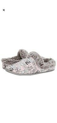 New Women's Bobs Skechers Beach Bonfire Cuddle Kitties Cat Pink Slippers Size 7 • 18.09£