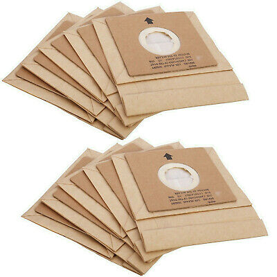 Pack Of 10 Argos Vacuum Cleaner Hoover Filter Paper Dust Bags VC401, VC402 • 7.99£