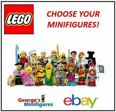 £5.49 • Buy Lego Minifigures **series 17** Choose Your Genuine Re-sealed Minifigures! 71018