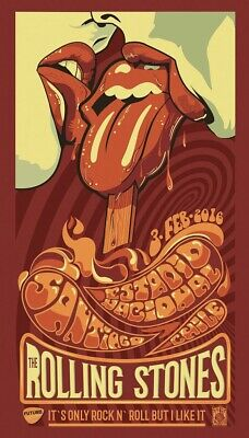 £2 • Buy The Rolling Stones Rock Band Poster A5
