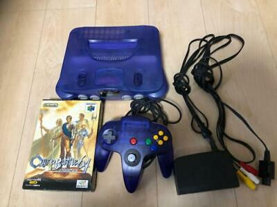 AU214.67 • Buy Nintendo N64 Console Midnight Blue Limited Color Controller