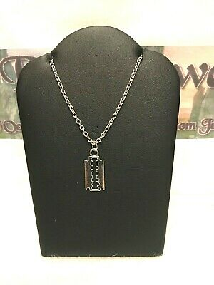 £3.50 • Buy Razor Blade Necklace ~ Only £3.50 With FREE UK Postage