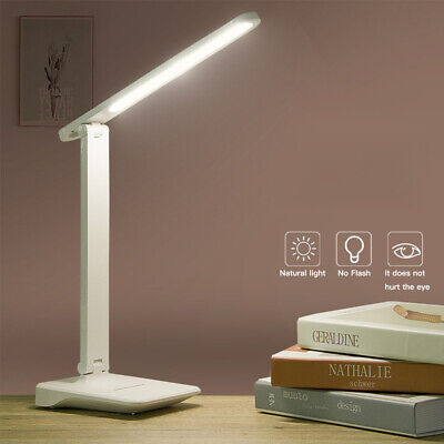 AU11.59 • Buy AU New LED Desk Lamps Night Light Eye-Caring Table Lamp With USB Charging Port