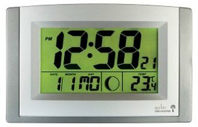 £49.95 • Buy Acctim Radio Controlled Clock With Automatic Dial Light Stratus 74057SL