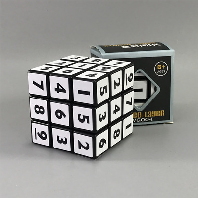 2021 New Magic Sudoku Speed Cube 3x3x3 Maths Rubik Puzzle Educational Toy Gift.  • 6.43£