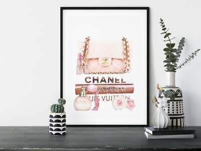 AU199.99 • Buy Home Hanging Picture Decor Print Paper Canvas Wall Art  Coco Chanel Poster