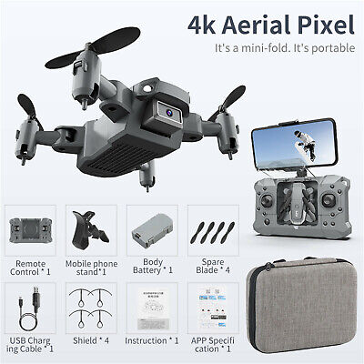 AU53.98 • Buy KY905 Mini Drone W/ 4K Camera HD Quadcopter Wifi FPV RC Helicopter Quadrocopter