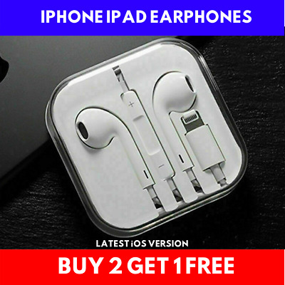 Earphones With Mic Bluetooth Headphones Pop-Up Apple IPhone 7 8 Plus X • 5.99£
