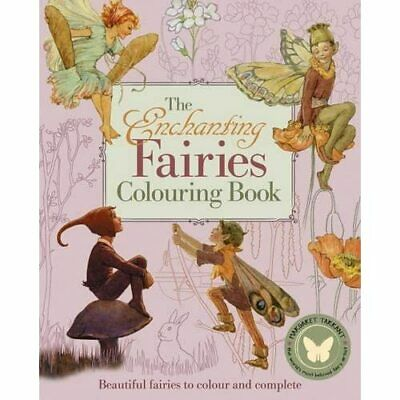 The Enchanting Fairies Colouring Book (Colouring Books) - Paperback NEW Margaret • 9.01£