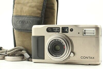 $ CDN405.01 • Buy 【  Exc+5 W/ Case 】Contax TVS 35mm Point & Shoot 35mmFilm Camera Zeiss From Japan