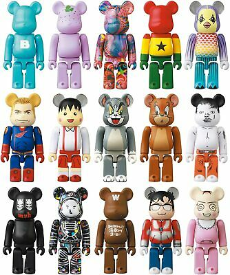 $240 • Buy Medicom Toy BE @ RBRICK Bearbrick Series 41 [70mm] Figure 24 Pieces BOX [NEW]