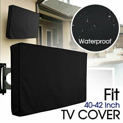 AU19.99 • Buy 40-42 Inch TV Cover Dustproof Waterproof Outdoor Patio Television Protector Case