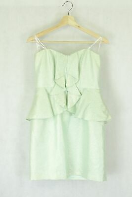 AU22 • Buy Forever New Size 10 Green Dress By Reluv Clothing