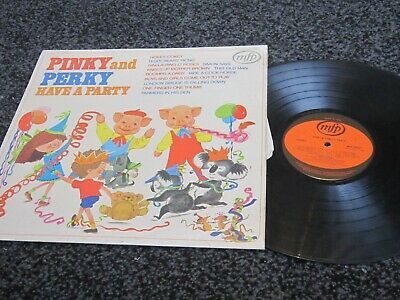 £4 • Buy 12   Album Record ,Pinky And Perky Have A Party ,1972