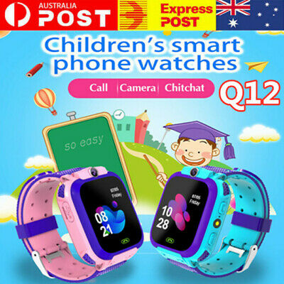 AU21.19 • Buy Waterproof Kids Smart Watch Anti-lost Safe GPS Tracker SOS Call For Android IOS.