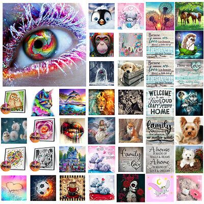 £5.69 • Buy 5D Full Drill Diamond Painting Embroidery Stitch Cross Art Kit Mural Home Decor