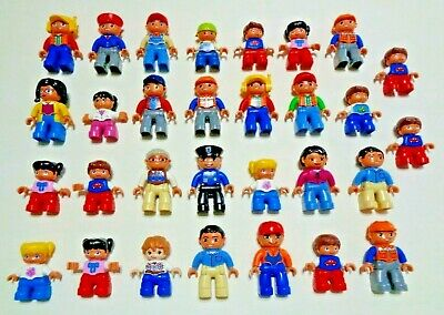 AU200 • Buy Lego Duplo Mixed People Bulk Lot Of 48 Some Vintage In Good Condition Free Post