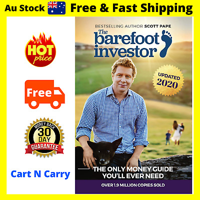 AU23.48 • Buy The Barefoot Investor Book By Scott Pape 2020 Update - Paperback