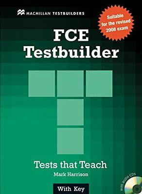 £4.49 • Buy New FCE Testbuilder: Student Book With Key By Jake Allsop Mixed Media Product
