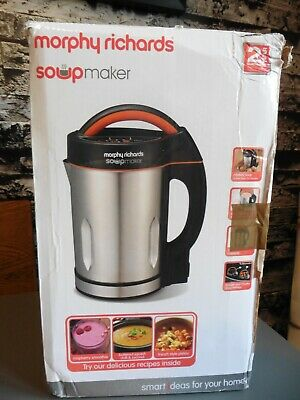 Soup Maker - Morphy Richards 1.6 Litre - Model 48822 - Good Condition & Boxed • 24.99£