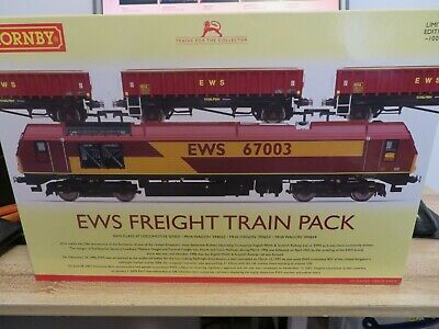 £179.99 • Buy Hornby R3399 EWS DCC Ready Freight Train Pack Limited Edition Dcc Ready