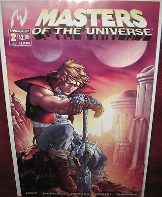 $8 • Buy MASTERS OF THE UNIVERSE #2 MVCREATIONS COMIC (2004 3rd Series) NM