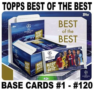 £0.99 • Buy Topps Champions League Best Of The Best 2021 Supersize - Base Cards #1 - #120