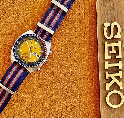 $ CDN788.55 • Buy Vintage Seiko Automatic Pogue Pepsi Day Date Stainless Steel Men's Watch 6139