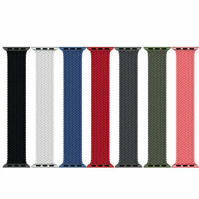 AU16.99 • Buy Nylon Strap For Apple Watch Band Series SE/6/5/4/3/2 44MM 40MM 42MM 38MM
