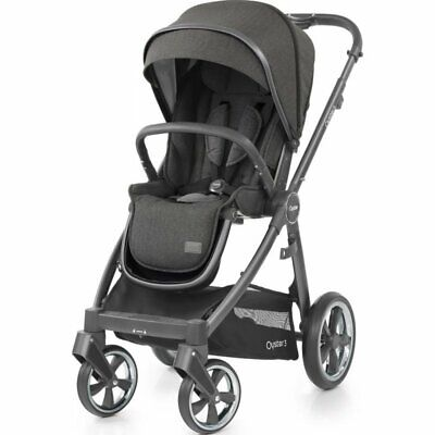 £499 • Buy Babystyle Oyster 3 Pushchair City Grey Chassis / Pepper
