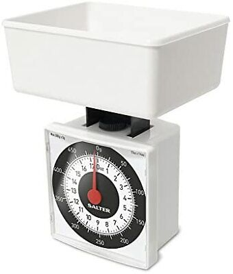 Salter Dietary Mechanical Kitchen Scales – 500g Capacity, Weigh In 5g Increme • 7.83£